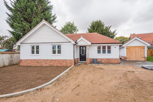 Thumbnail Detached bungalow for sale in Drapery Common, Glemsford, Sudbury