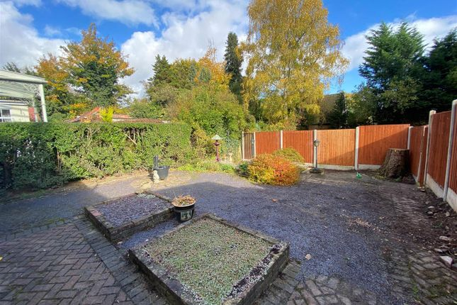 Rear Garden of Richmond Road, Wolverhampton WV3