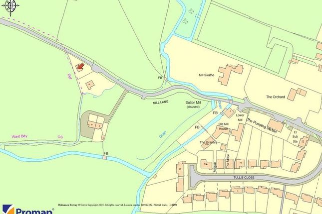 Land for sale in Mill Lane, Sutton Courtenay, Abingdon