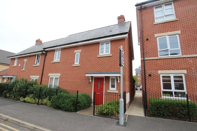 Thumbnail Semi-detached house for sale in Saw Mill Road, Colchester