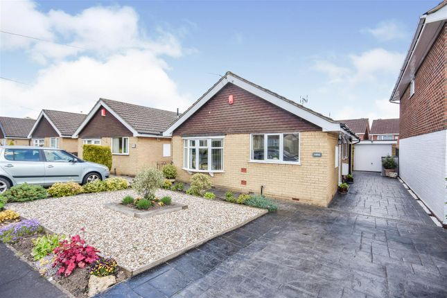 Thumbnail Detached bungalow for sale in Welland Grove, Clayton, Newcastle-Under-Lyme