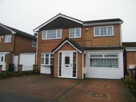 Thumbnail Detached house for sale in Peebles Way, Rushey Mead, Leicester, Leicestershire