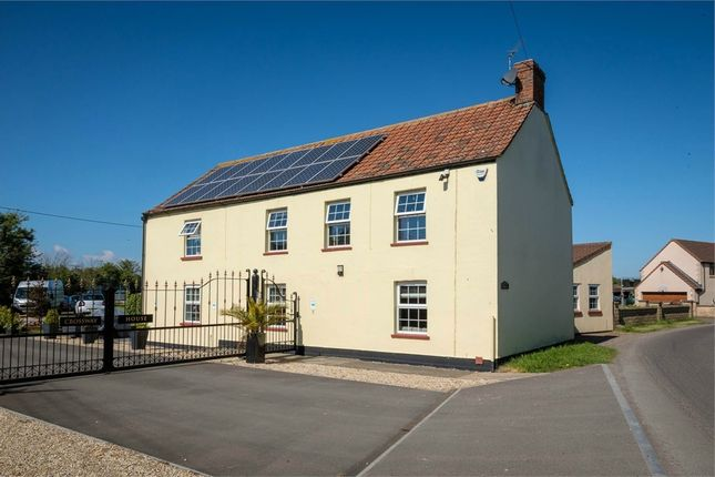 Thumbnail Detached house for sale in Chedzoy Lane, Bridgwater, Somerset
