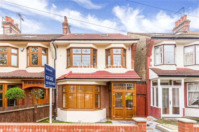 Thumbnail End terrace house for sale in Hawthorn Avenue, London
