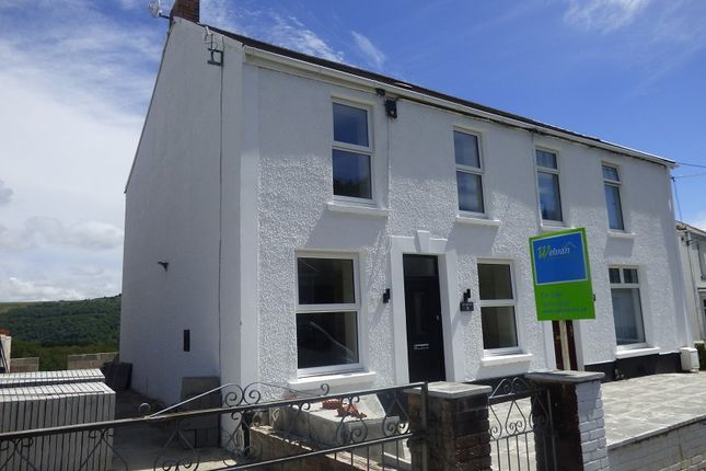 Thumbnail Semi-detached house for sale in Main Road, Cilfrew, Neath .