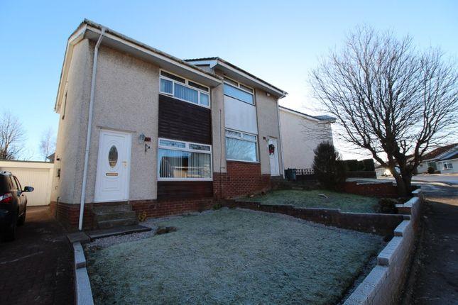 Thumbnail Semi-detached house for sale in Kirkton Crescent, Coatbridge, North Lanarkshire