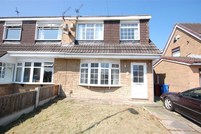 Thumbnail Semi-detached house for sale in Grassington Crescent, Woolton, Liverpool