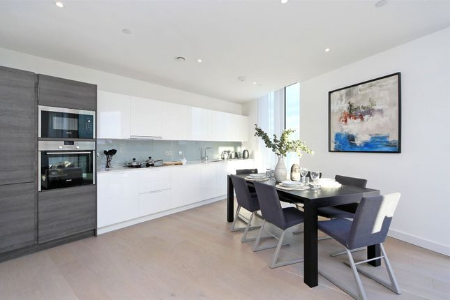 Thumbnail Flat for sale in River Gardens Walk, Greenwich, London