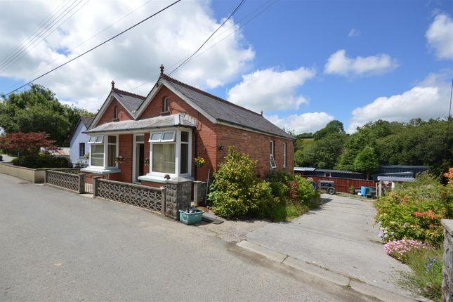 Thumbnail Detached bungalow for sale in Llanfyrnach