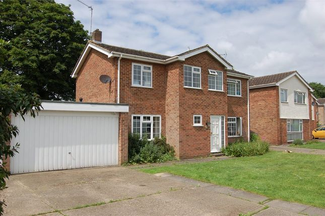 Thumbnail Detached house for sale in Longcroft, Stansted
