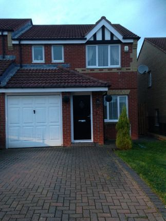 Thumbnail Semi-detached house to rent in The Hawthorns, West Kyo, Stanley