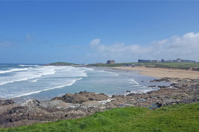Thumbnail Land for sale in Esplanade Road, Newquay, Cornwall