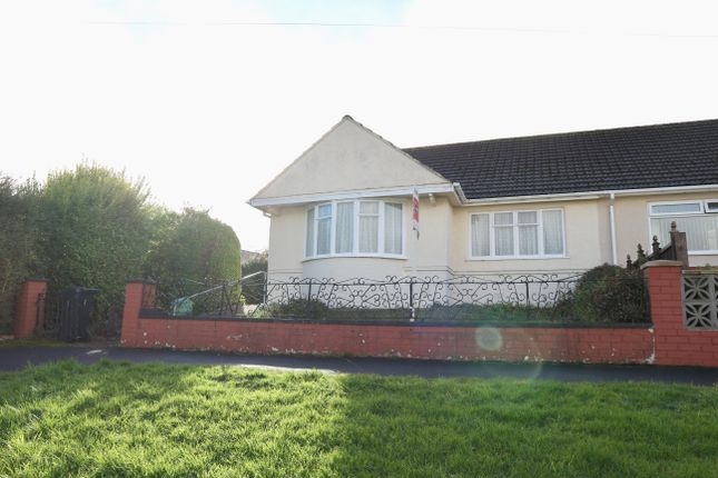 Thumbnail Semi-detached bungalow for sale in Six Bells, Heolgerrig, Merthyr Tydfil