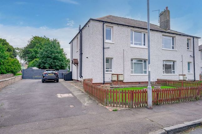 Thumbnail Flat for sale in Glebe Crescent, Ayr