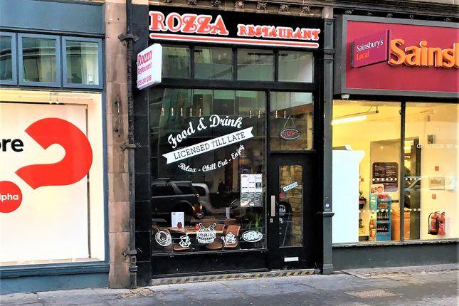 Thumbnail Restaurant/cafe for sale in Earl Gray Street, Edinburgh
