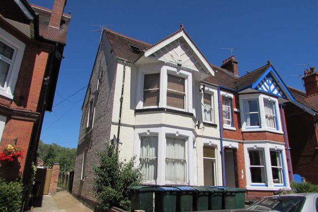 Thumbnail 1 bed flat to rent in Spencer Avenue, Earlsdon, Coventry