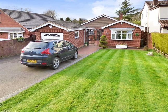 Thumbnail Detached bungalow for sale in Newlands Lane, Cannock, Staffordshire