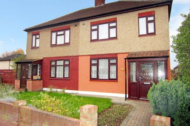 Thumbnail Semi-detached house for sale in Jutsums Lane, Romford
