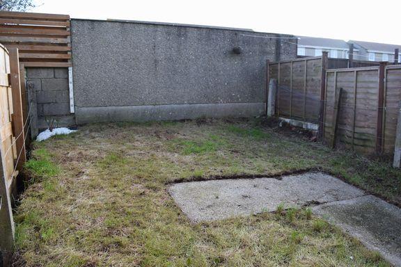 Rear Garden of Penhale Estate, Redruth TR15