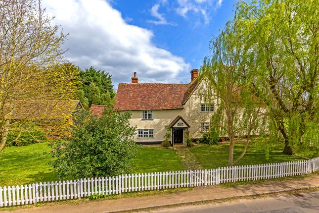 Thumbnail Detached house for sale in Upton End Road, Shillington, Hitchin