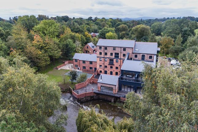 Thumbnail Flat for sale in Penthouse 1, Mytton Mill, Forton Heath, Shrewsbury