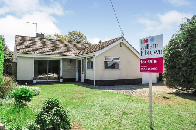 Thumbnail Detached bungalow for sale in Quidenham Road, East Harling, Norwich