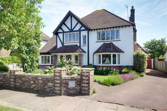 Thumbnail Detached house for sale in Offington Gardens, Worthing, West Sussex