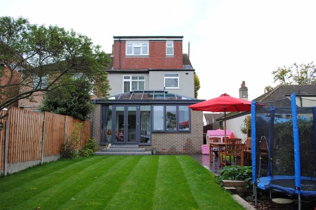 Thumbnail Semi-detached house for sale in Vicarage Road, Hornchurch