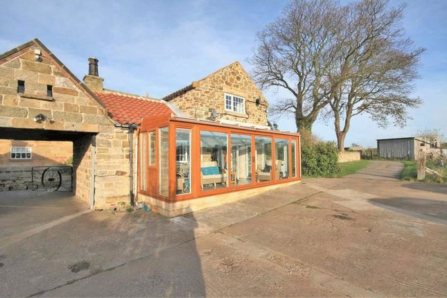 Thumbnail Detached house for sale in Meadow View Cottage, Holywell Farm, Grinkle