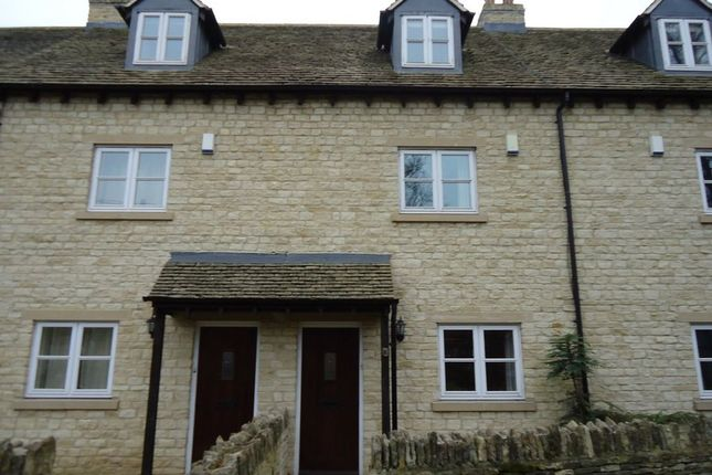 Thumbnail Terraced house to rent in Aston Road, Bampton