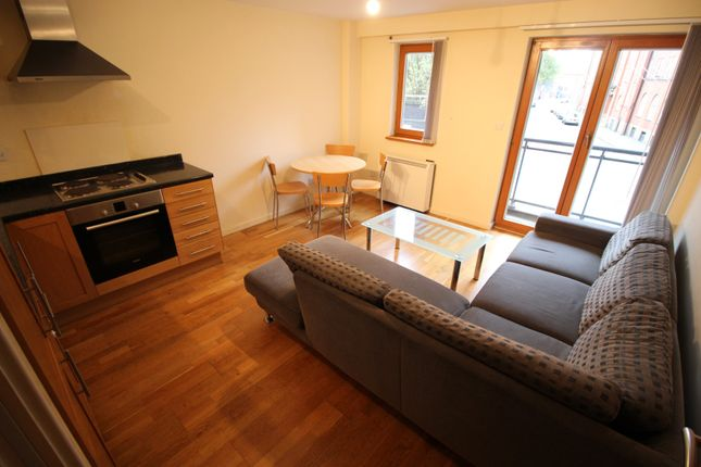1 bed flat to rent in Parkers Apartment, 115 Cooperation Street, Manchester M4