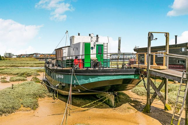 Thumbnail 2 bed houseboat for sale in Lower Beach Road, Shoreham-By-Sea