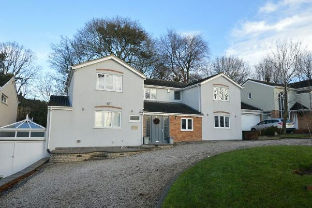 Thumbnail Detached house for sale in Woodbank, Glen Parva, Leicester