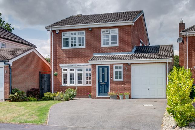 Thumbnail Detached house for sale in Finchall Croft, Solihull