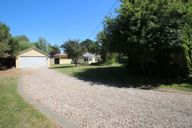 Thumbnail Detached bungalow for sale in Lower Road, Hullbridge, Hockley