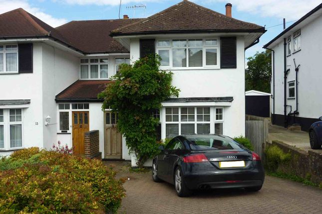 Thumbnail Semi-detached house to rent in Hillcroft Crescent, Watford