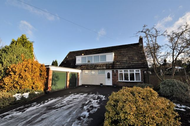 Thumbnail Detached house for sale in Brooklands Drive, Goostrey, Crewe