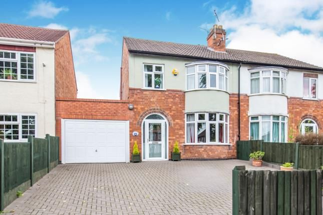 Front of Anstey Lane, Leicester LE4