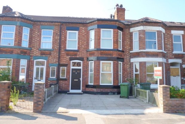 Thumbnail Terraced house to rent in Bebington Road, New Ferry, Wirral