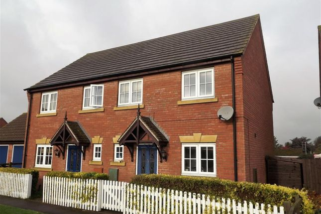 Thumbnail Semi-detached house for sale in Kings Manor, Coningsby, Lincoln
