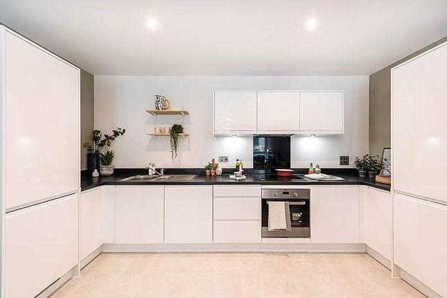 Kitchen of Lambourne House, Apple Yard, London SE20
