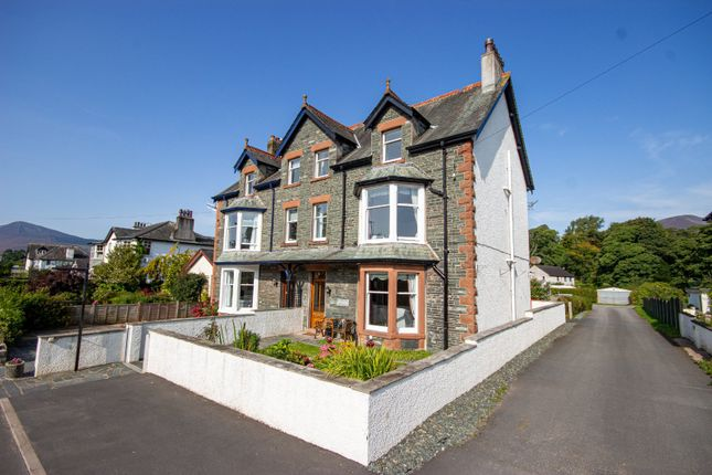 Thumbnail Semi-detached house for sale in Hazelmere Guest House, Crosthwaite Road, Keswick, Cumbria