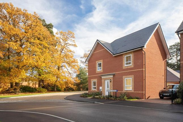 "Thumbnail Detached house for sale in ""Alderney"" at Cricket Field Grove, Crowthorne"