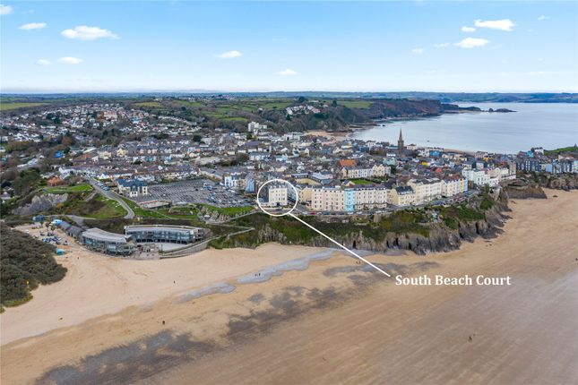Thumbnail Flat for sale in South Beach Court, Esplanade, Tenby