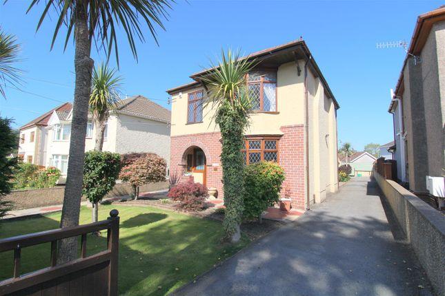 Thumbnail Detached house for sale in Tyn Yr Heol Road, Bryncoch, Neath