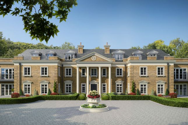 Thumbnail Block of flats for sale in Church Lane, Sunninghill, Ascot