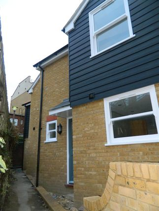 Thumbnail End terrace house for sale in Sion Passage, Ramsgate