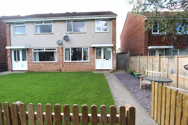 Thumbnail Semi-detached house for sale in Oak Close, Little Stoke, Bristol