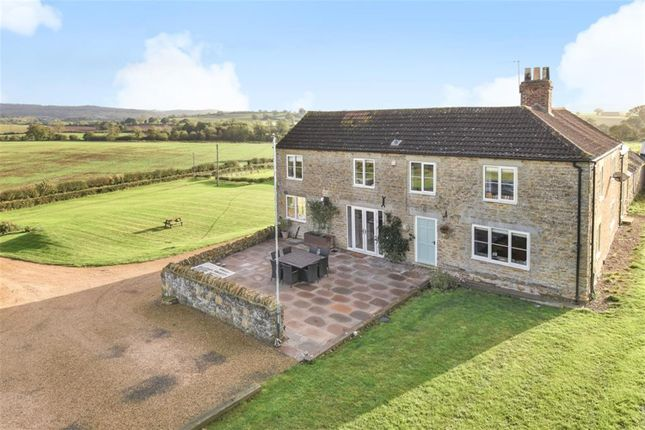 Thumbnail Farmhouse for sale in Coxwold Road, Carlton Husthwaite, Thirsk