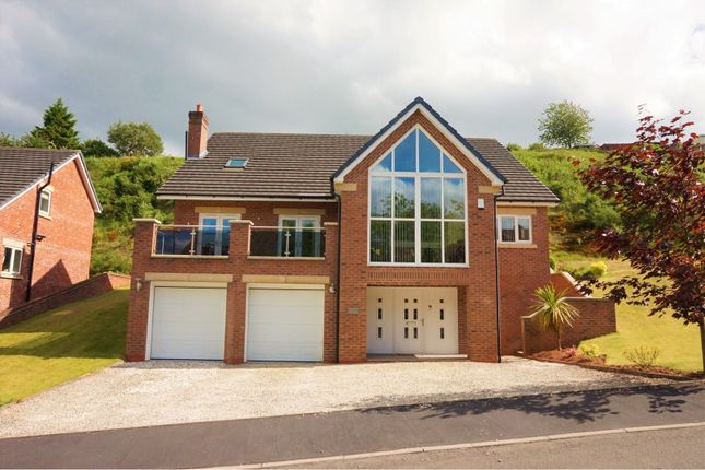 Thumbnail Detached house for sale in Vale View, Leek